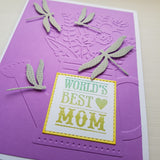 Mother's Day card - ladybugs