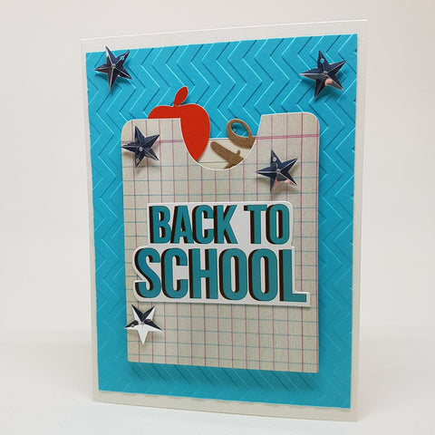 greeting card - back to school