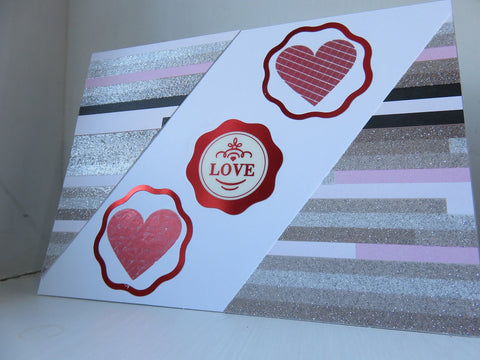 love greeting card - white 001