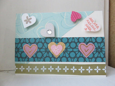 love greeting card - ivory 002