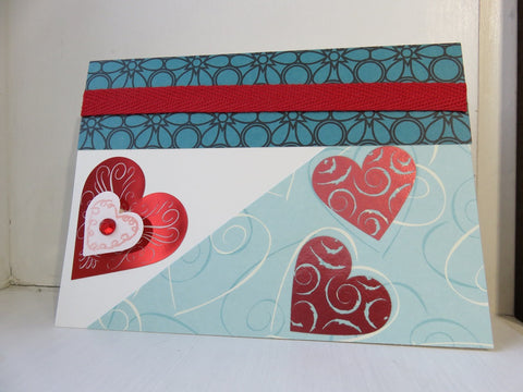 love greeting card - ivory 006