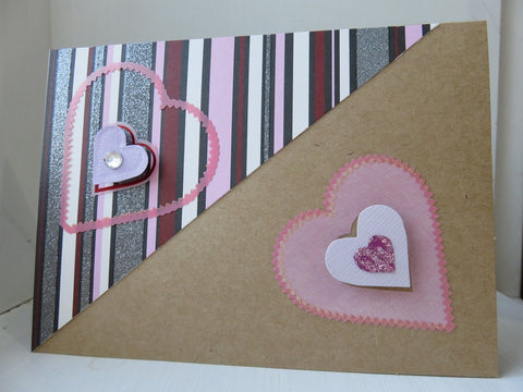 love greeting card - kraft 005