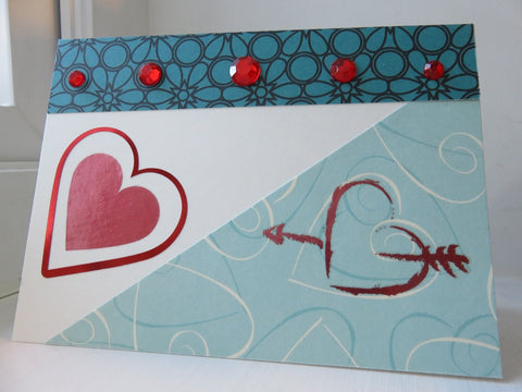 love greeting card - ivory 010