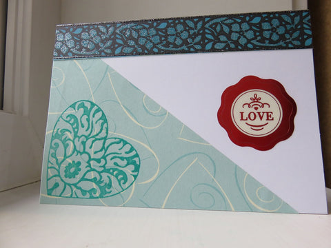 love greeting card - white 004