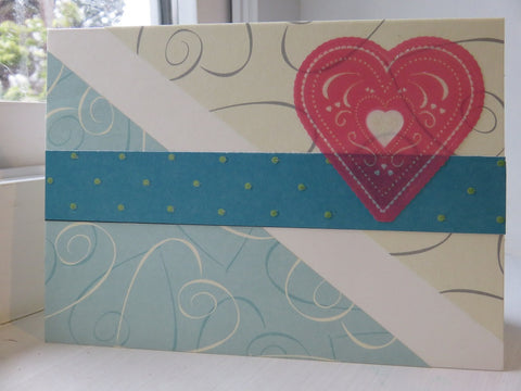 love greeting card - ivory 012