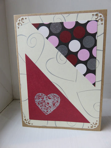 love greeting card - kraft 008