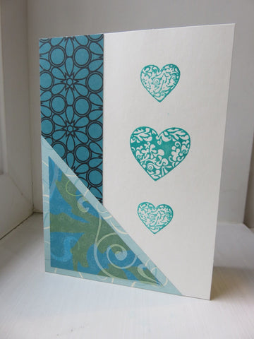 love greeting card - ivory 014