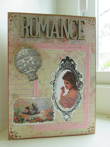 love greeting card - ROMANCE
