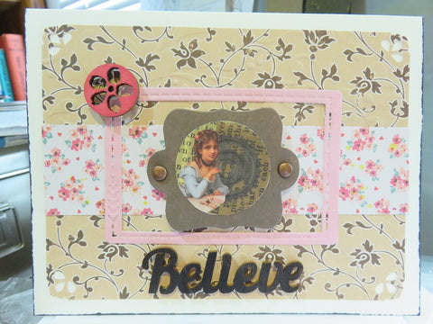 greeting card - Believe