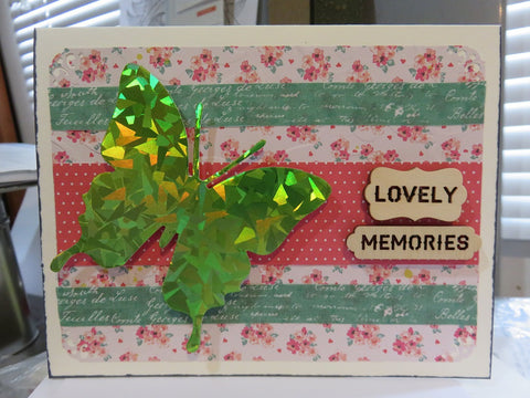 greeting card - LOVELY MEMORIES