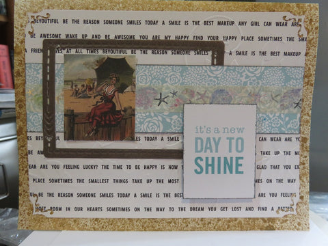 greeting card - SHINE