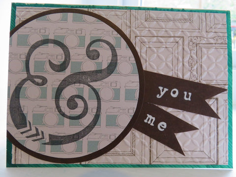greeting card - you & me