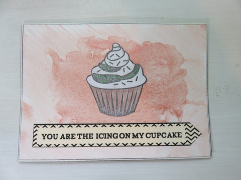 greeting card - You Are The Icing