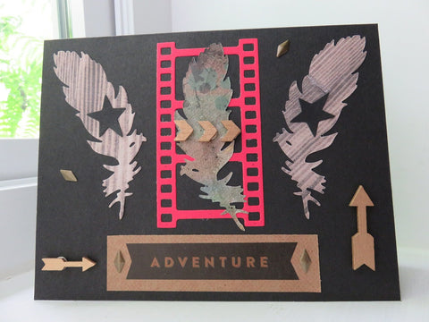 greeting card - Capture Adventure