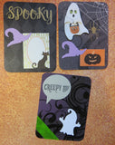 Halloween journaling cards