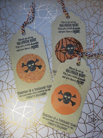 Halloween tags - quote