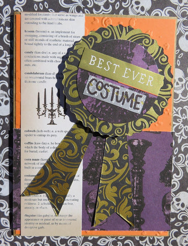 Halloween greeting card - 005