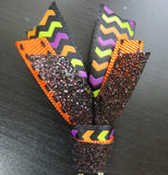 Halloween ribbon paper clips - standard size