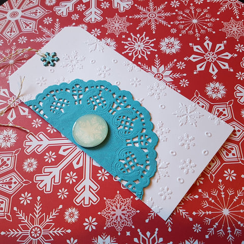 Christmas gift card holder - large tag