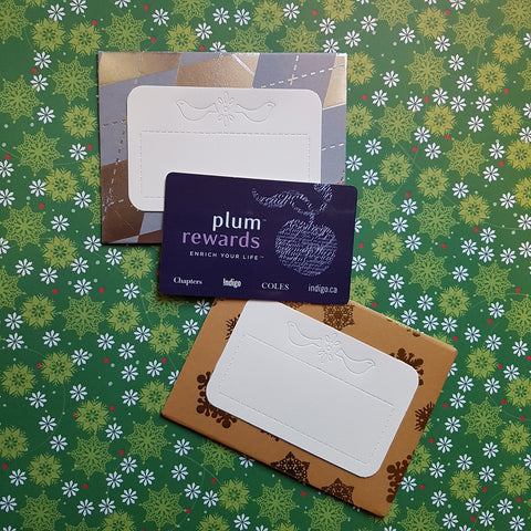 Christmas gift card holder - envelopes