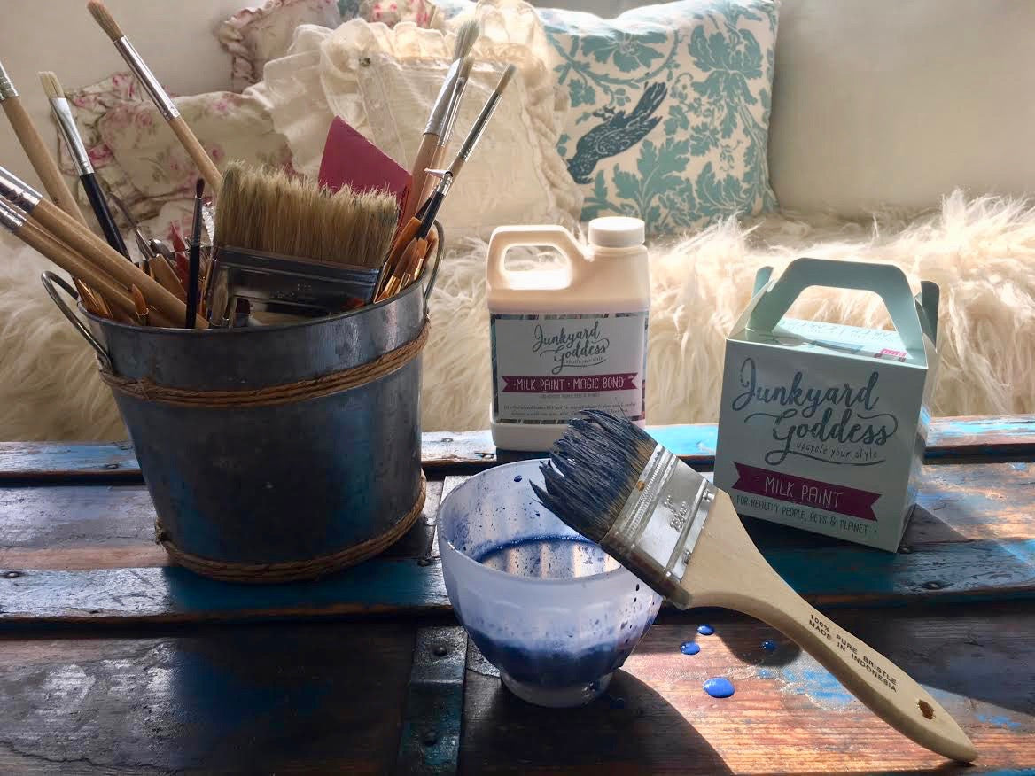 Tools Needed for Milk Paint