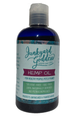 Junkyard Goddess Hemp Oil - Junkyard Goddess Eco-Boutique
