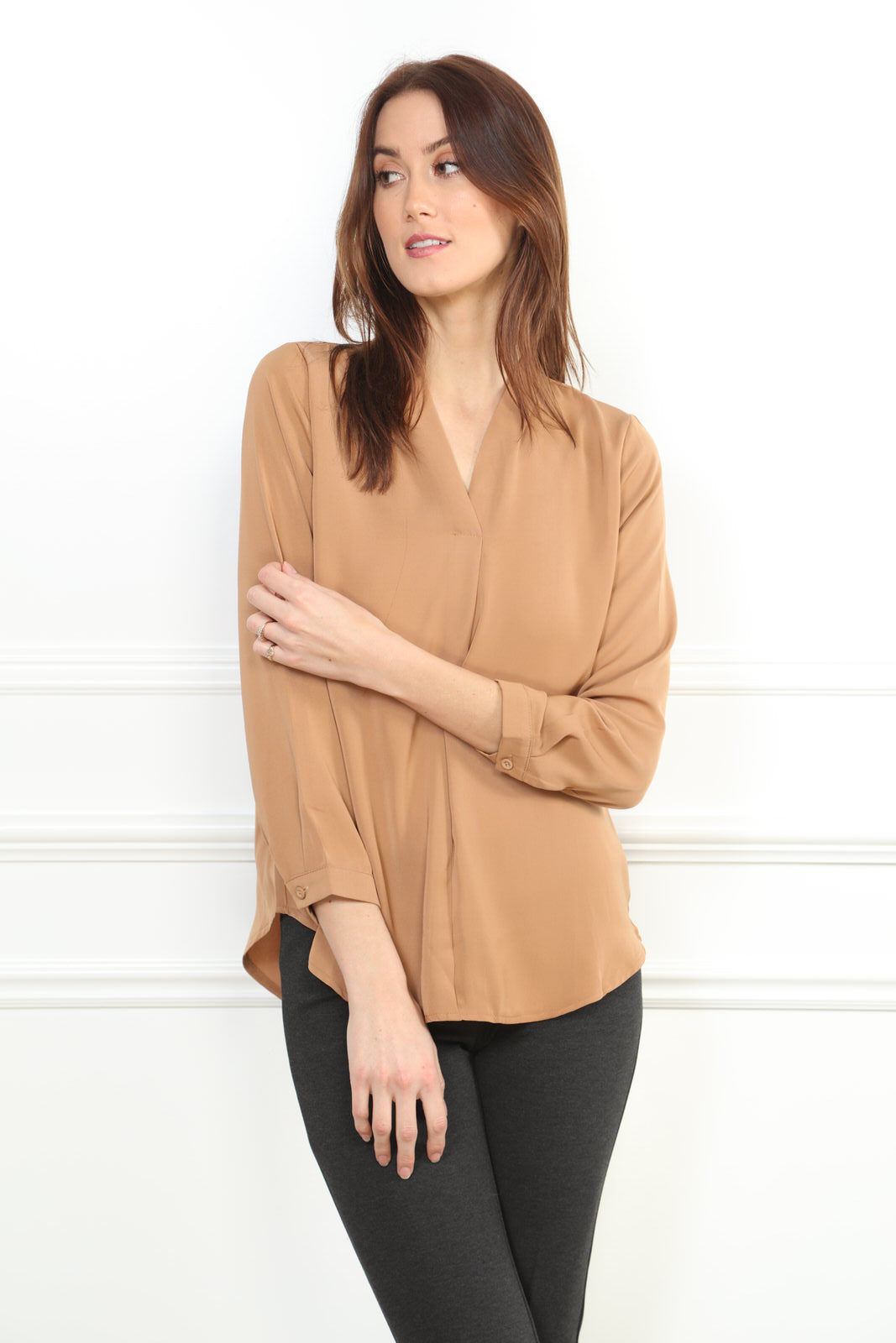 V Neck Blouse