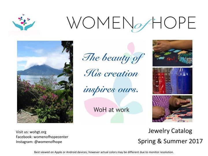 Jewelry Catalog - Spring & Summer 2017