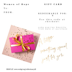 Women of Hope Gift Card