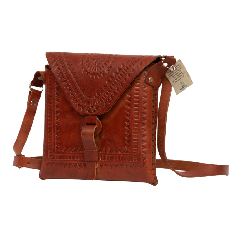 Leather Handbag Square