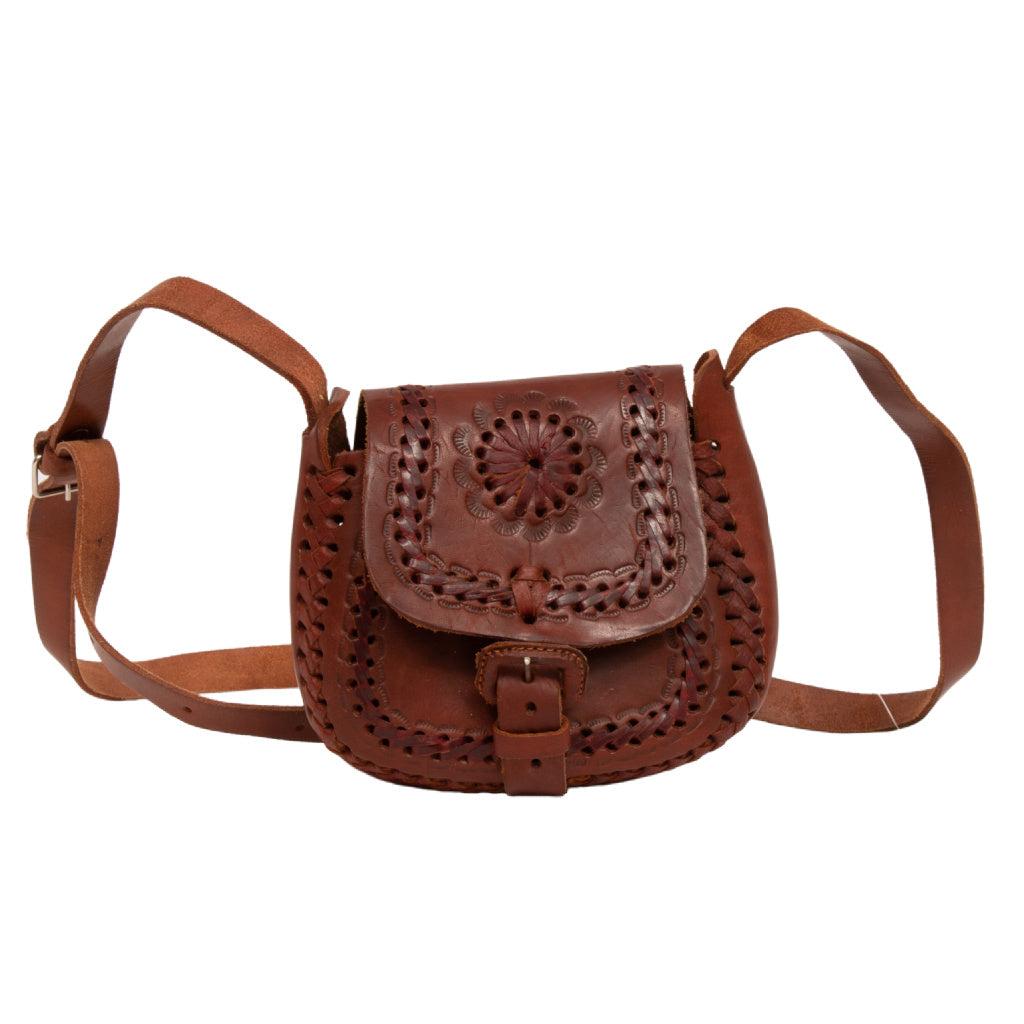 Leather Handbag Belt Closure
