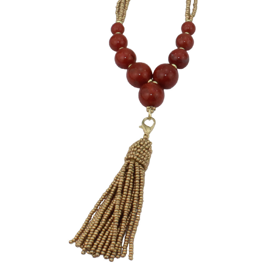 Betty Beaded Tassel