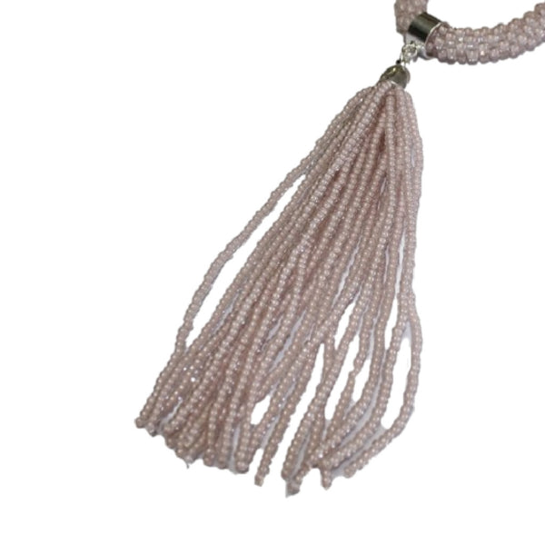 Clara Simple Beaded Tassels
