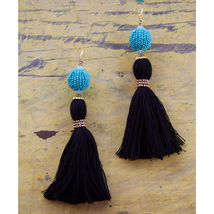 Yesenia Tassel Earring - WOMEN OF HOPE