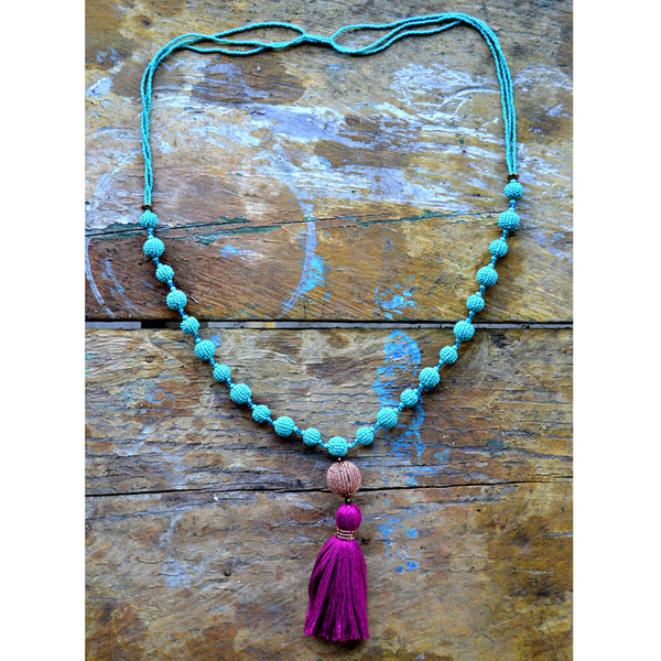 Yesenia Tassel Necklace - WOMEN OF HOPE