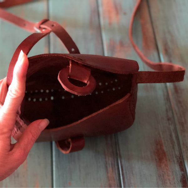 Leather Handbag Smooth