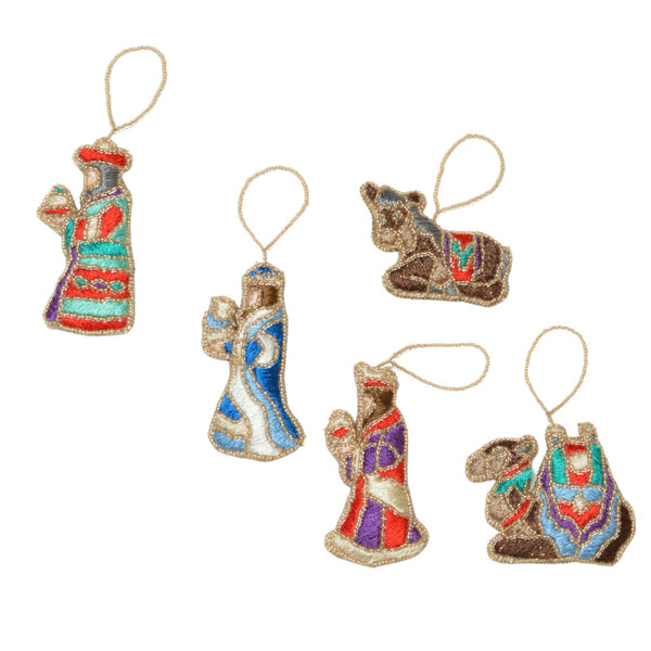 Nativity Hanging Ornament Sets