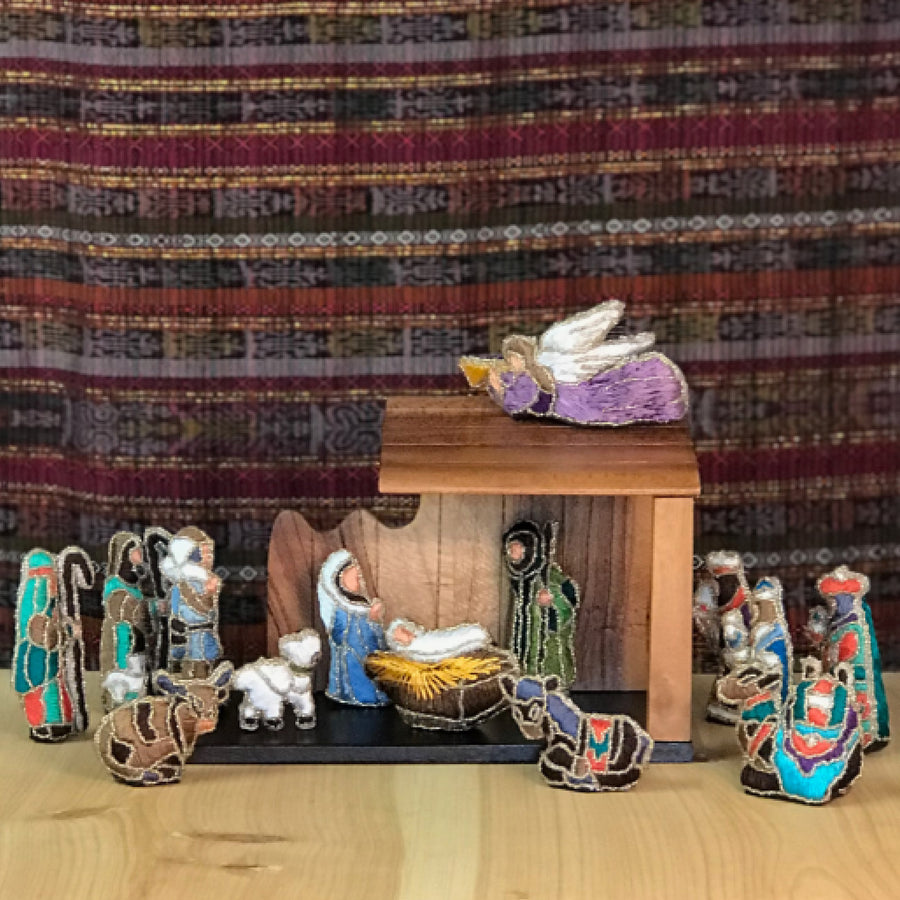 Nativity Tabletop Ornament Sets
