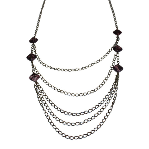 Romelia Stone Necklace
