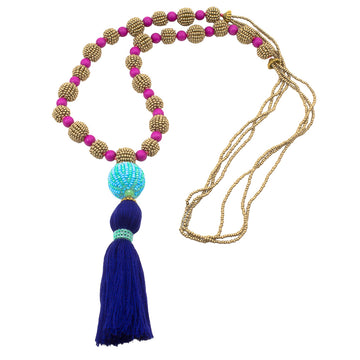 Yesenia Tassel Necklace