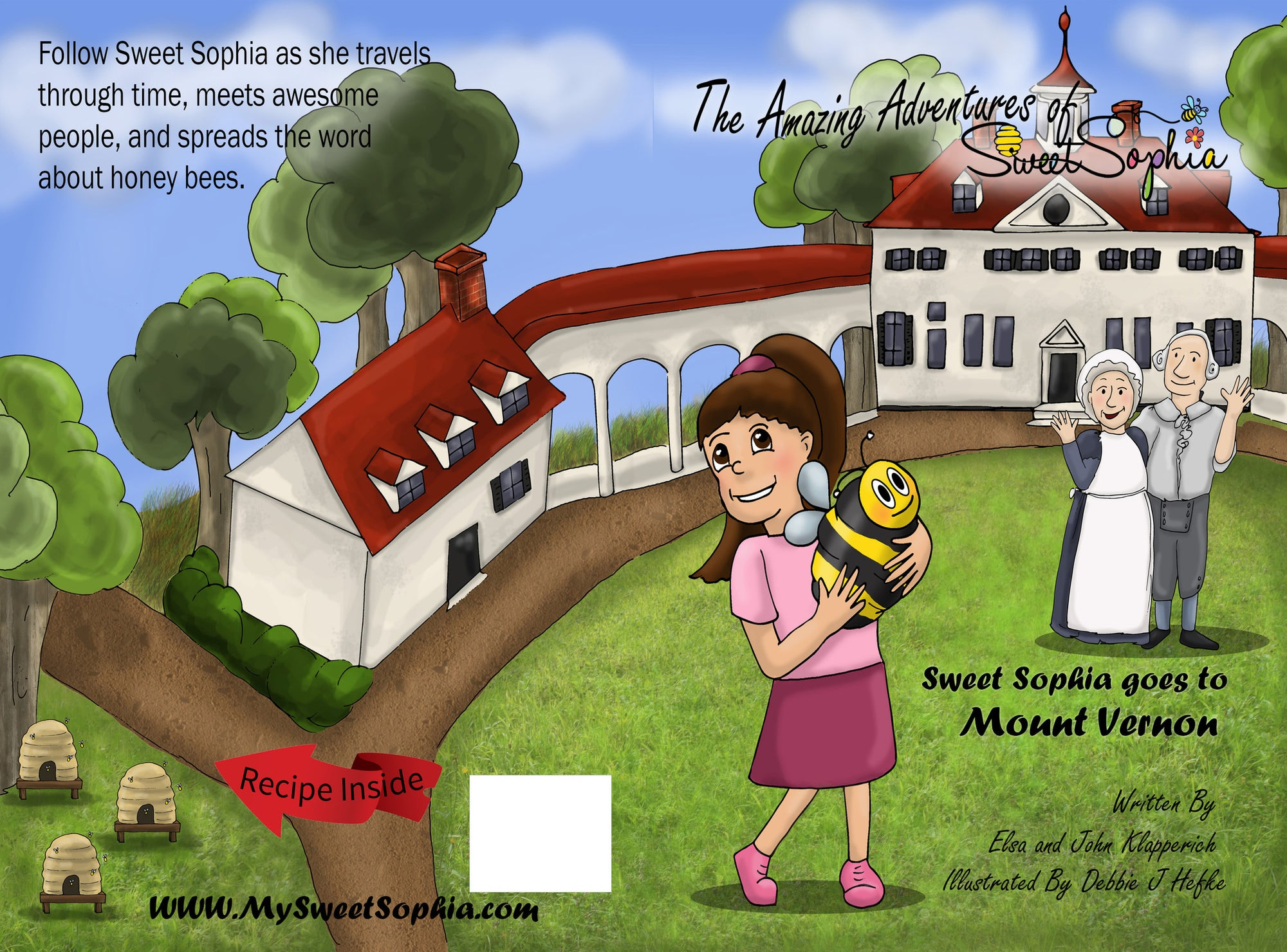 The Amazing Adventures of Sweet Sophia - Sophia goes to Mt. Vernon