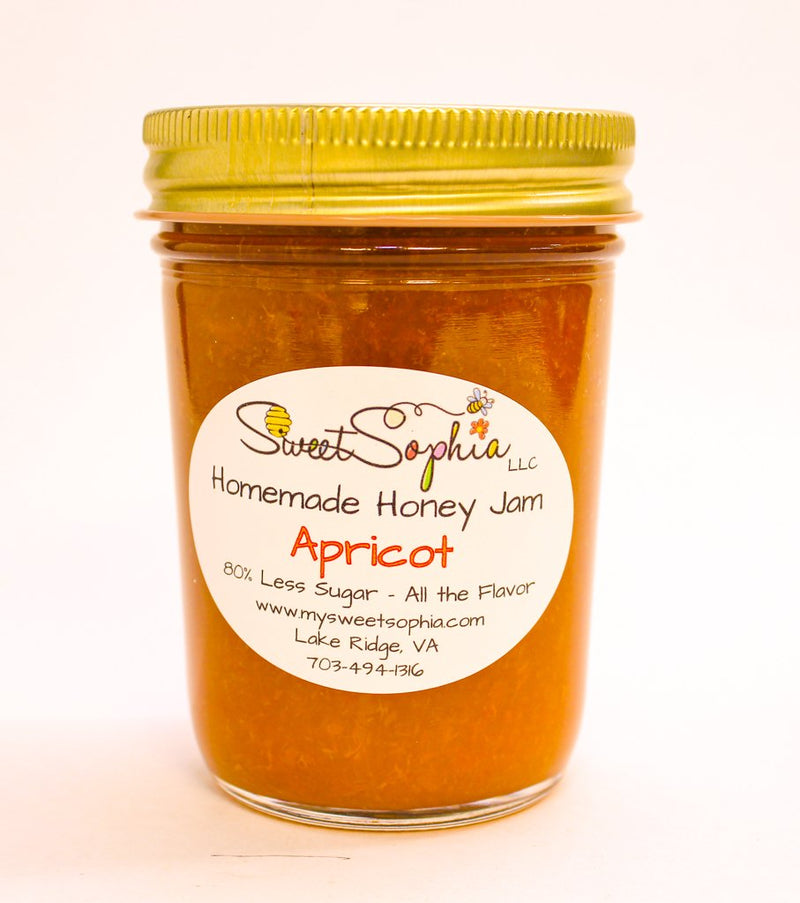 Homemade Honey Jam - Apricot