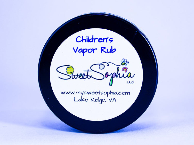 Vapor Rub - Child Safe