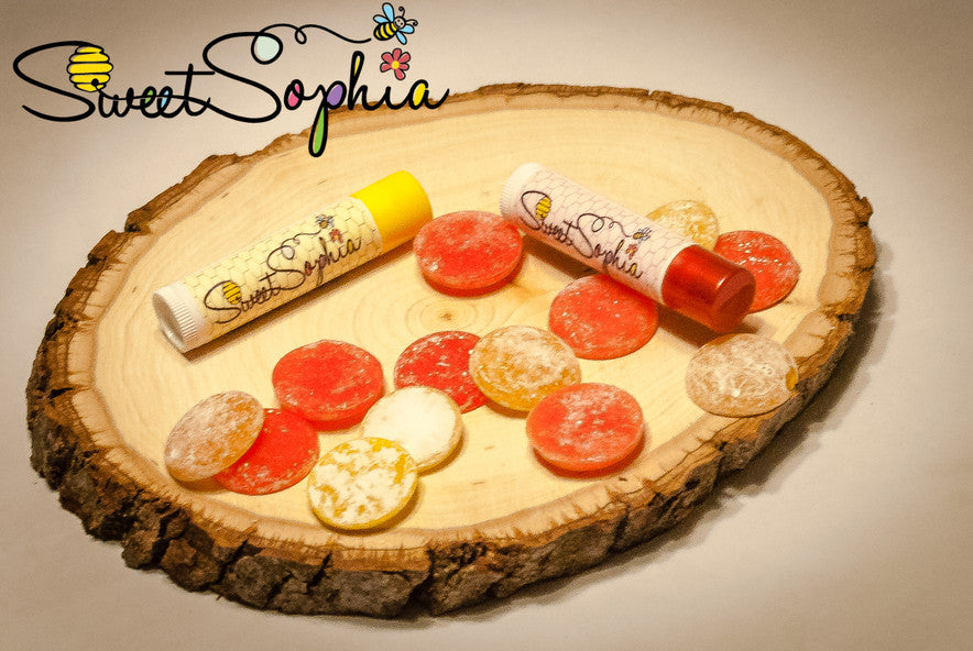 Natural Beeswax Lip Balms