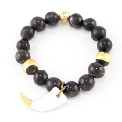 K-Ayo - African Small Bead Bracelet - Luxe Lion