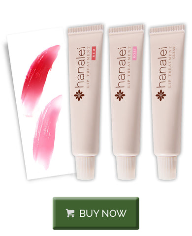 Buy Hanalei Multi-color travel set of lip treatment