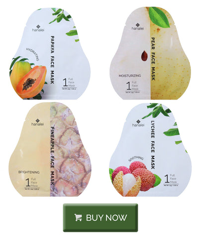 Cruelty-free sheet masks by Hanalei Company