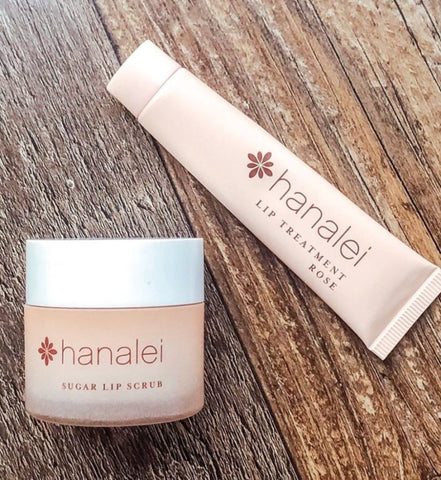 Hanalei Company Sugar Lip Scrub and Lip Treatment