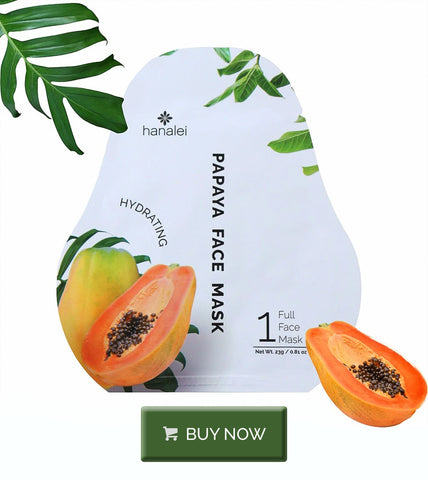 Buy Hanalei Company Papaya Face Mask