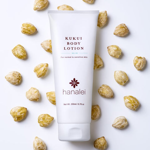 Kukui Oil moisturizing body lotion by Hanalei Company